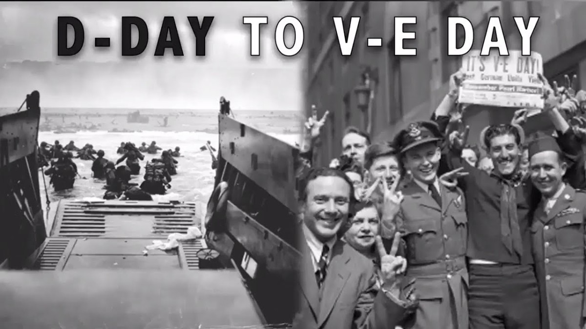 May 7, 1945 Victory inEurope
