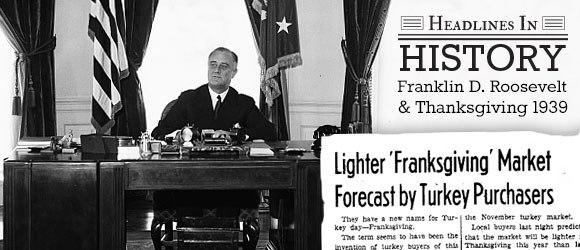 November 26, 1941,Franksgiving