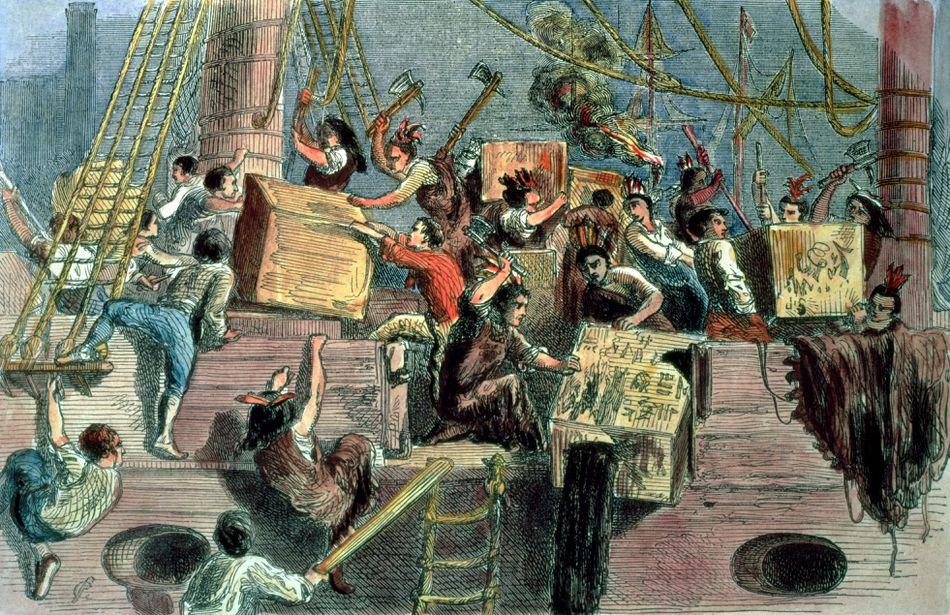 December 16, 1773 TeaParty
