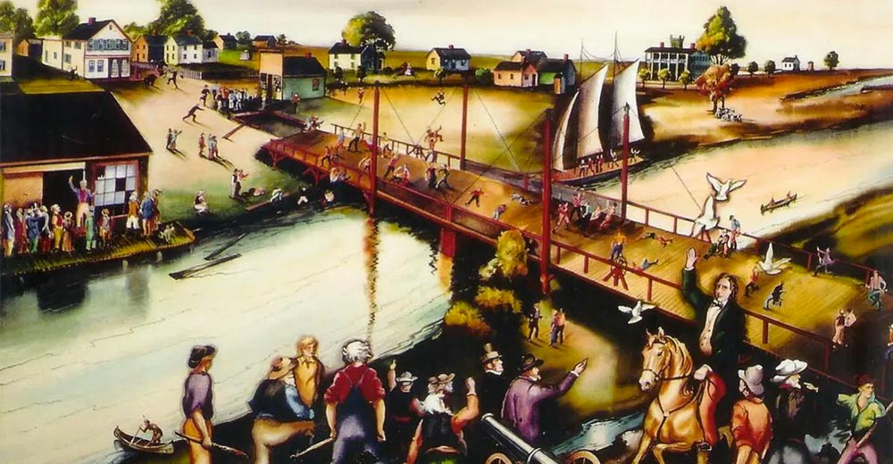 January 31, 1846  Milwaukee Bridge War