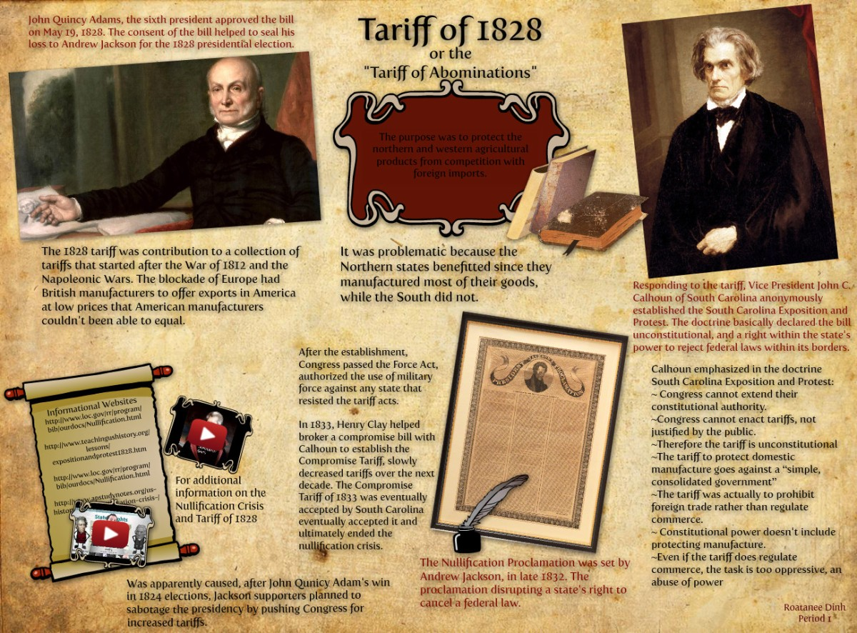 May 19, 1828  Tariff ofAbominations